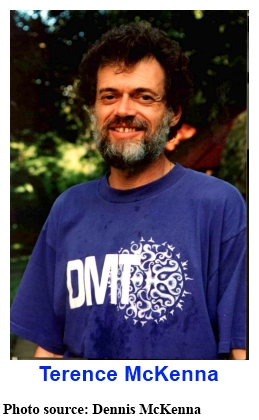 Terence McKenna . . . photo source: Dennis McKenna