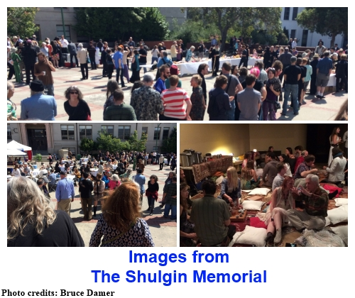 Images from the Shulgin Memorial