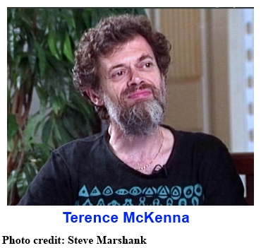 Terence McKenna ... photo credit: Steve Marshank